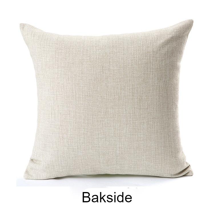 XUNYU Cute Pet Yellow Chow Chow Dog Cushion Cover Square Cushion Covers Home Decor Throw Pillowcases Linen Pillowcase B0053