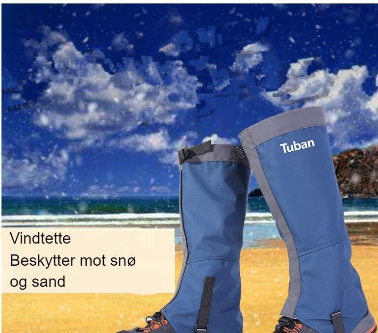 Unisex Waterproof Leg Covers Legging Gaiter Climbing Camping Hiking Ski Boot Travel Shoe Snow Gaiters Legs Protection