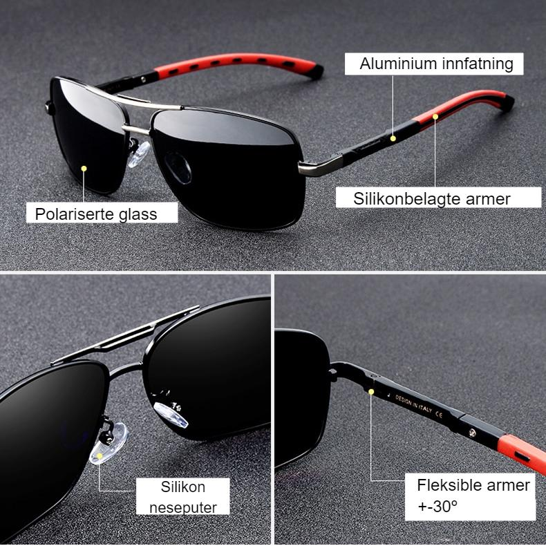 3PCS Combined Sale KINGSEVEN Polarized Sunglasses For Men Night Vision Oculos de sol Men's Fashion Square Driving Eyewear