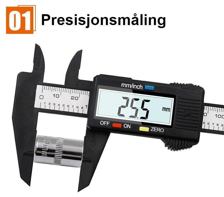 QSTEXPRESS New Arrival 100mm150mm 6 inch LCD Digital Electronic Vernier Caliper Gauge Micrometer Measuring Tool QST008