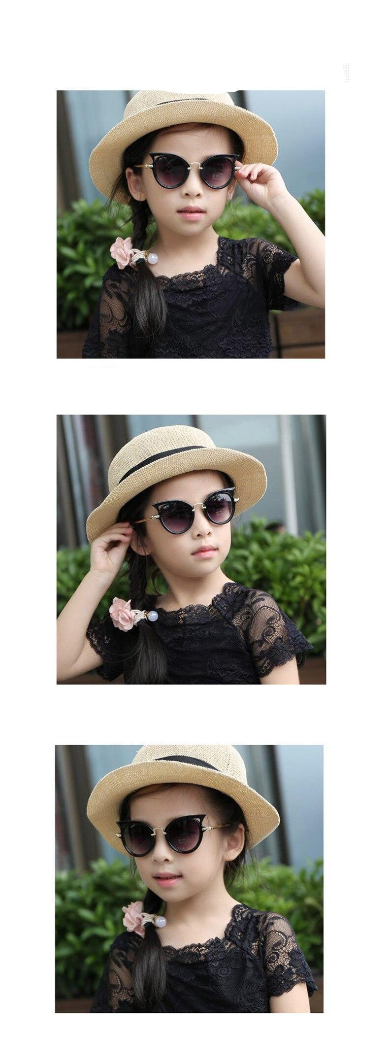 Beautyeye 2018 Kids Sunglasses Girls Brand Cat Eye Children Glasses Boys UV400 Lens Baby Sun glasses Cute Eyewear Shades Goggles