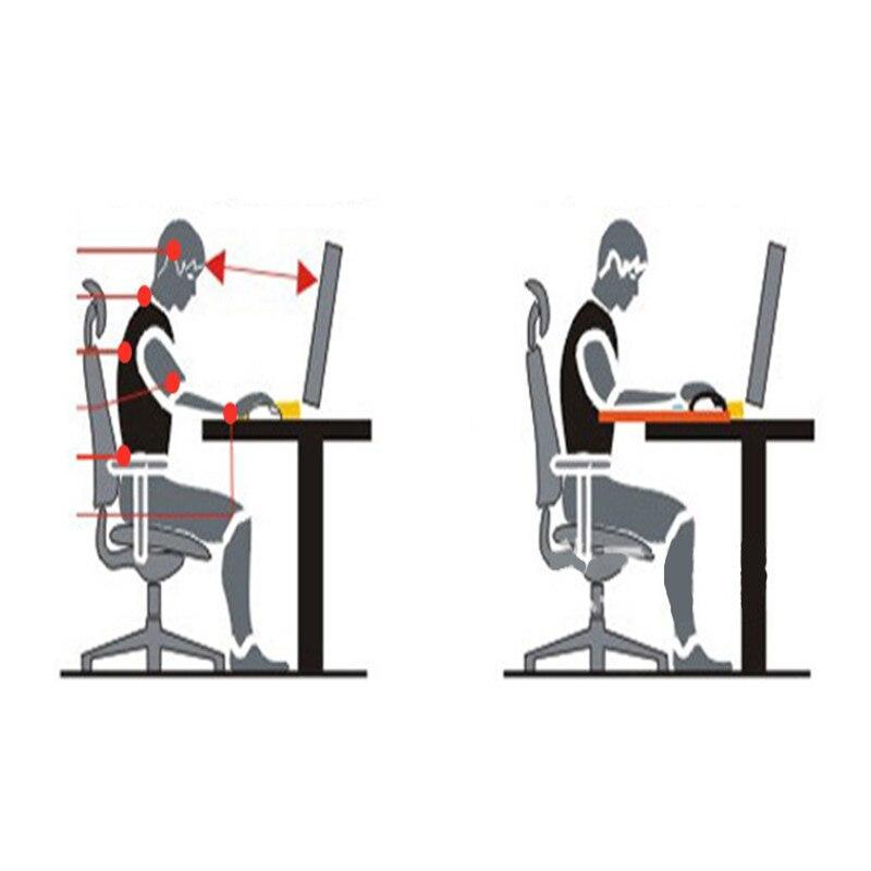 Computer armrest pad ergonomically adjustable PC wrist rest extender desk hand bracket home office wrist rotation bracket
