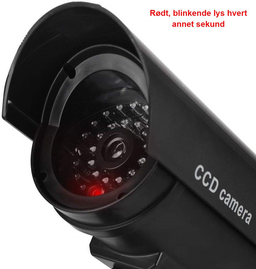 Dummy camera cctv video surveillance cameras w/ wifi antenna infared IR LED flashing battery powered security fake camera