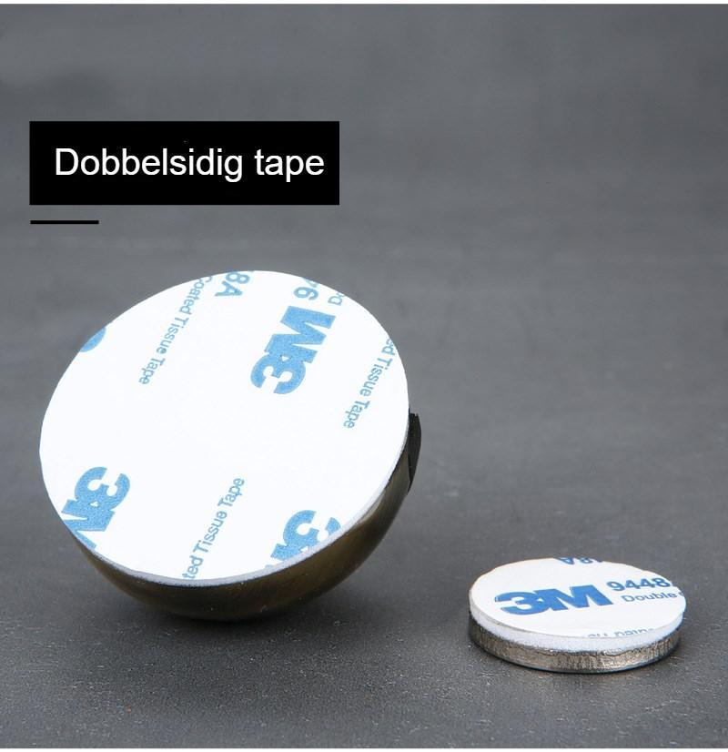 Stainless Steel Rubber Magnetic Door Stopper Non Punching Sticker Hidden Door Holders Floor Mounted Nail-free Door Stops